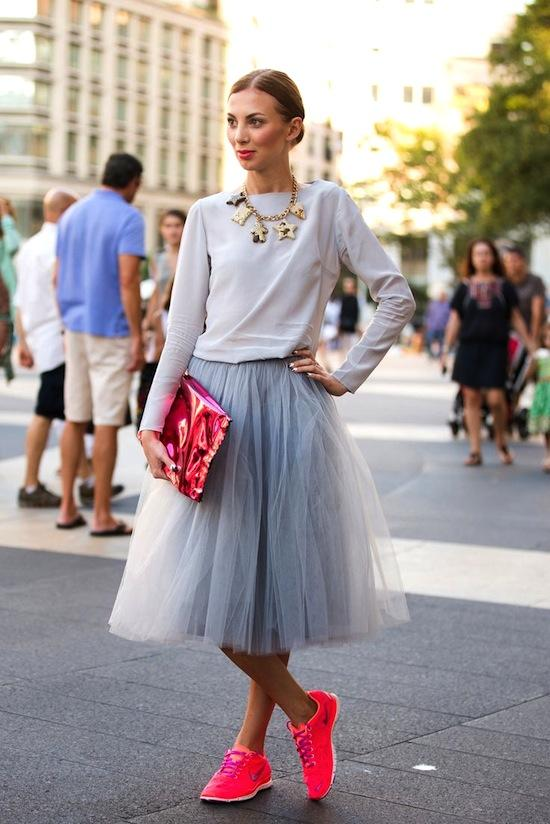 Tulle_skirt_and_sneakers_at_NYFW