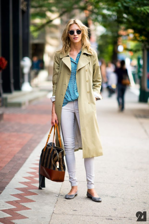 Trench and pumps
